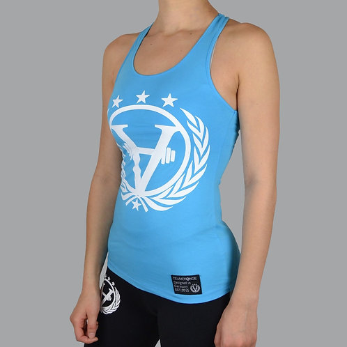 Luxury Women Tank Aquablue