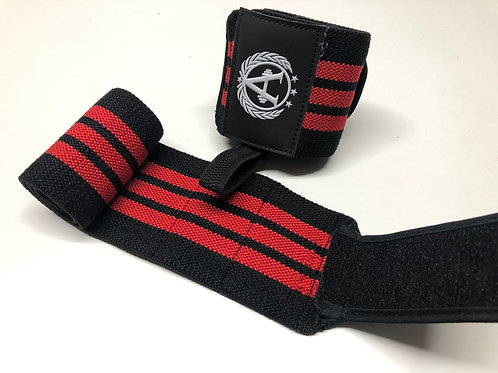 Wrist Wraps Red/Black