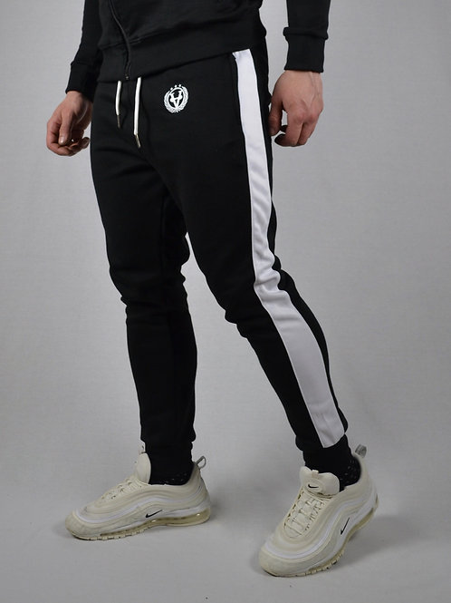 Striped Joggers Black/White
