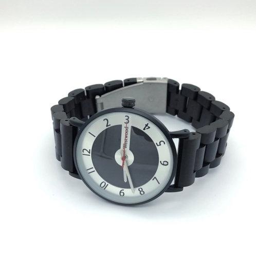 Black Pearl Watch Wood - Metal