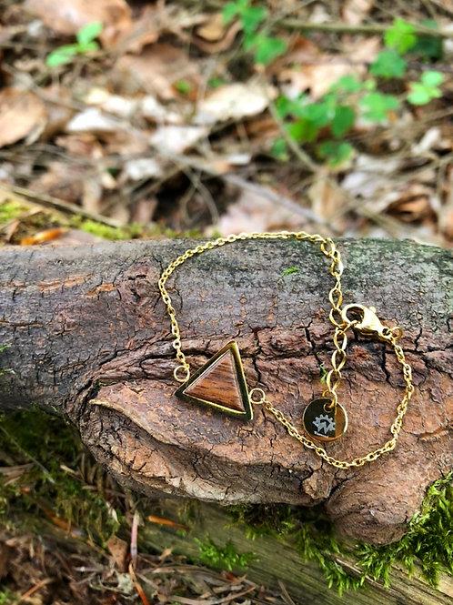 Westwood Triangle Bracelet Gold