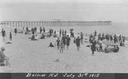 1915 beach