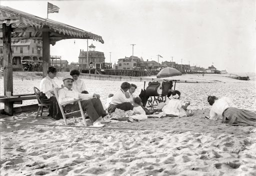1910 Belmar on the Beach