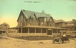 B-The Delaware, Belmar, NJ c1910