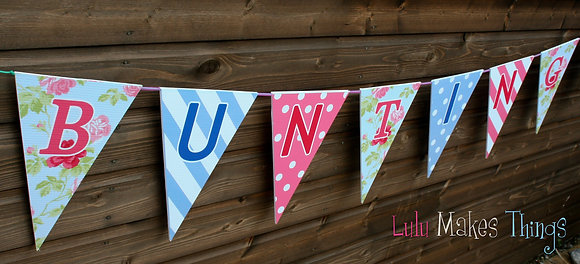 Personalised Bunting -  Large