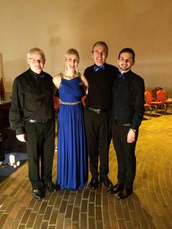 Robert, Moira, Peter & Michael