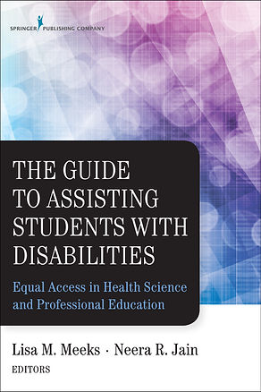 The cover includes pink and blue hues with white circles and a black inset box with the title. Underneath is a white area with no background and simply the editors names