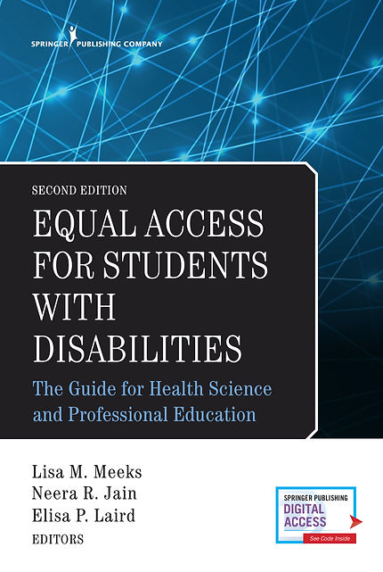 Picture of Second Edition of Equal Access for Students with Disabilities: The Guide for Health Science and Professional Education
