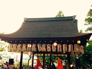 京都粟田神社ビアガーデン