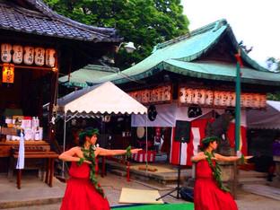 京都金札宮・宵宮祭