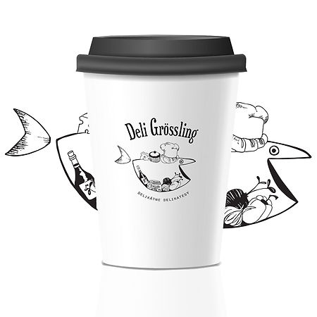 Deli Grossling Take-away Cup Nina Sefcik