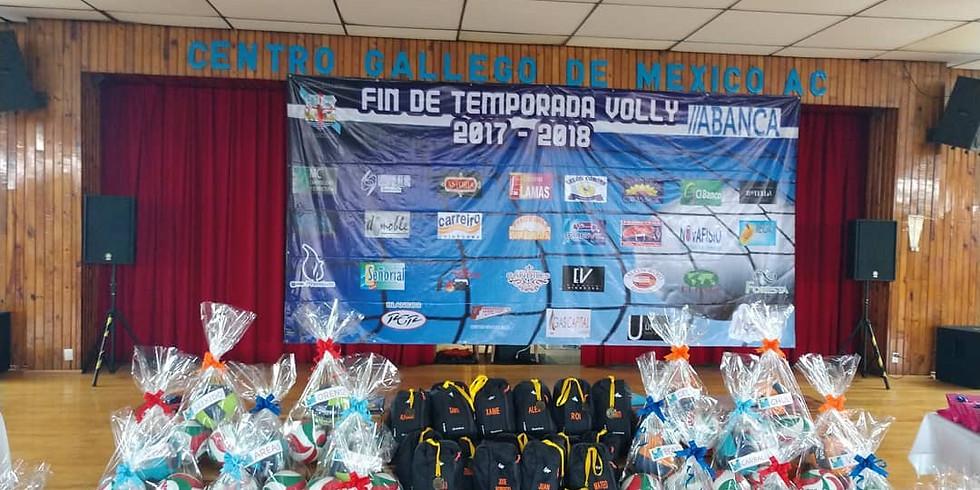 Premiación Liga Volleyball Gallego - ABANCA 2018 - 2019