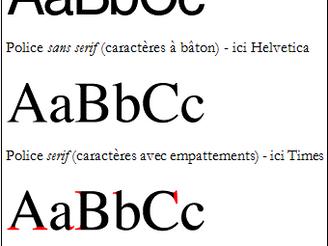 Serif ou Sans Serif