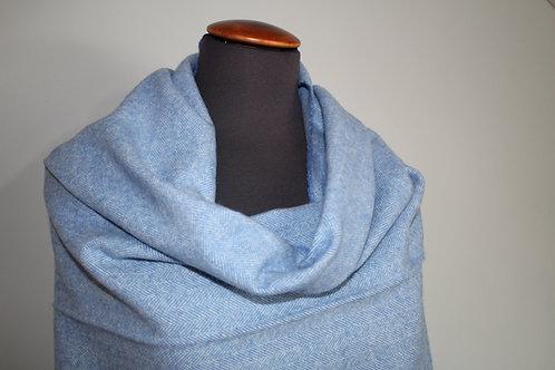 Sjaal licht Blauw