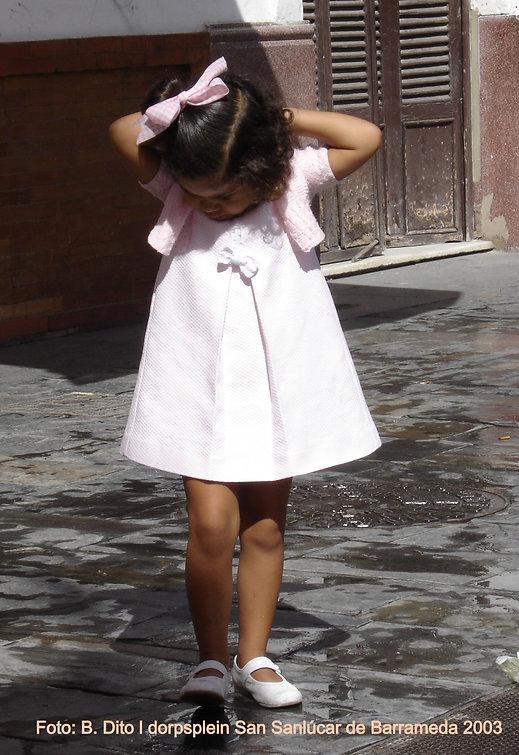Traditioneel Spaans meisje