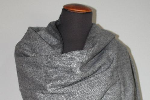 Sjaal donker Grijs
