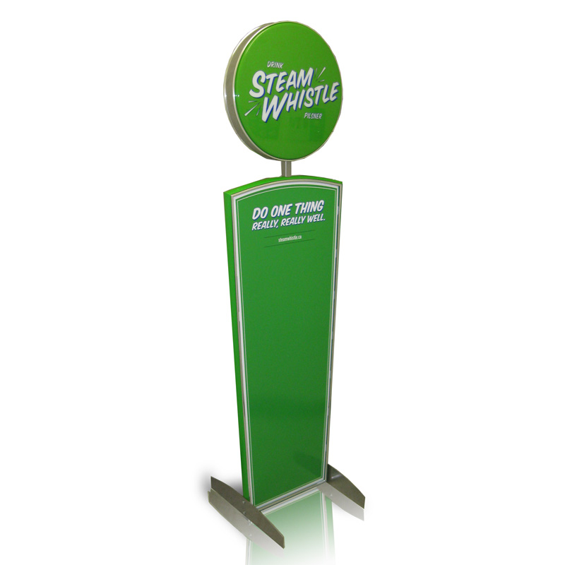 Steam Whistle_Lobby Display