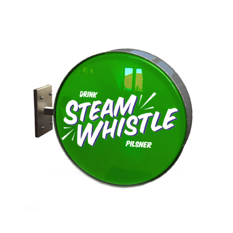 Steam Whistle Wall Sign