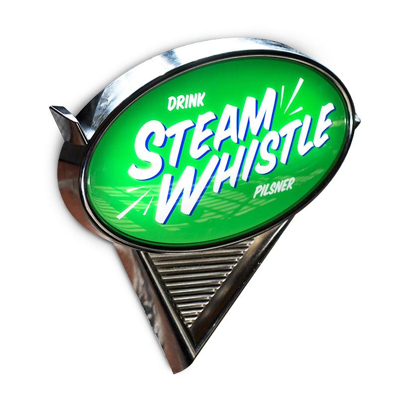 Steam Whistle Pub Sign