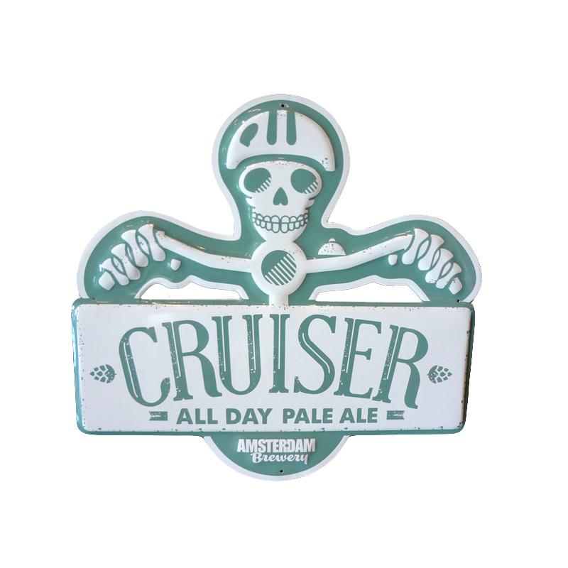 Amsterdamn_Cruiser Tin Sign