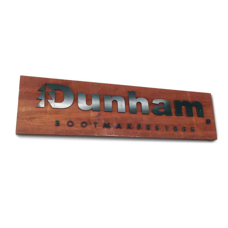 Dunham Wood Sign