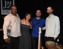 Miho Samba Jazz Quartet at Jazz Forum, NY