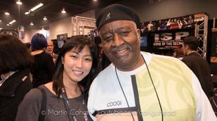 Bernard Purdie & Miho at NAMM show