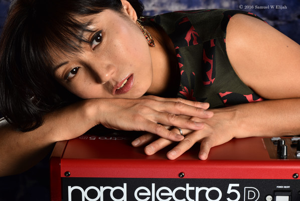Miho uses NORD electro 5