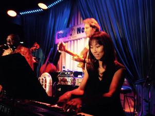 with Jeoy Morant at Blue Note, NY