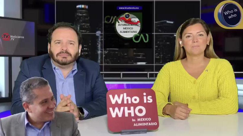 LAS 12 DE LOS NOTICIEROS.TV CONGRESO INTERNACIONAL MÉXICO ALIMENTARIO