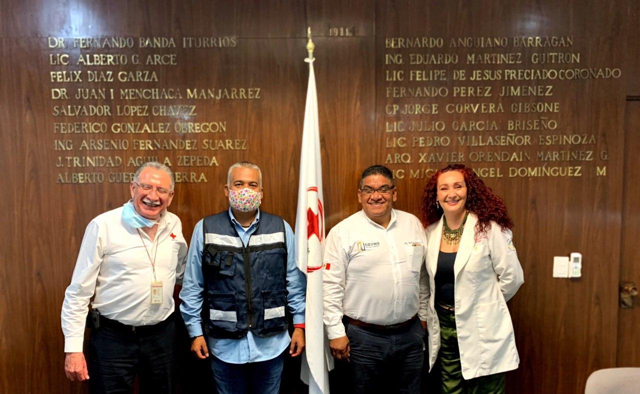 Salón de Plenos de la Cruz Roja Jalisco