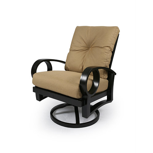 Eclipse Swivel Rocking Dining Arm Chair Cushion