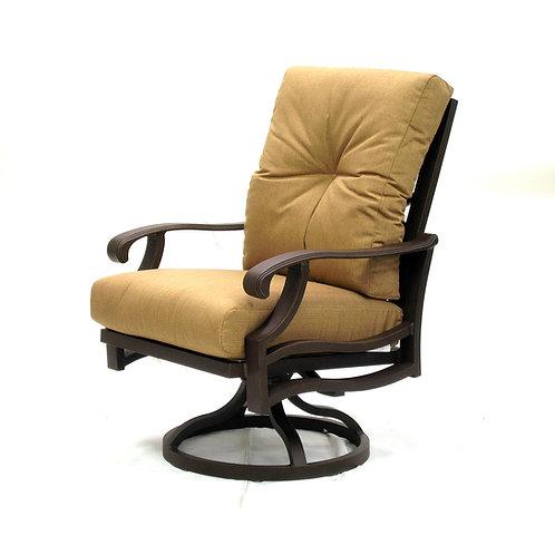 Anthem Swivel Rocking Dining Arm Chair Cushion