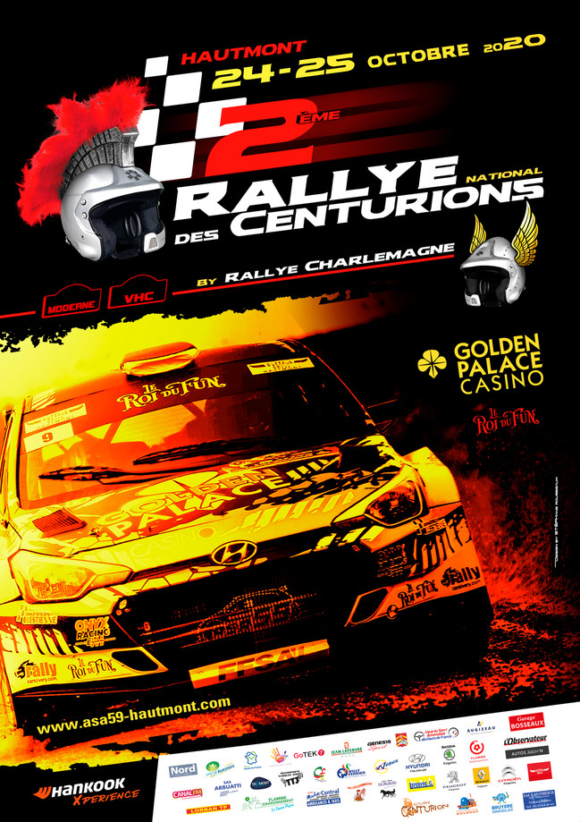affiche rallyes centurion by charlemagne