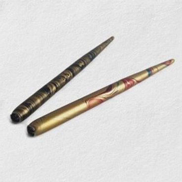 Marbled Wooden Pen Holder