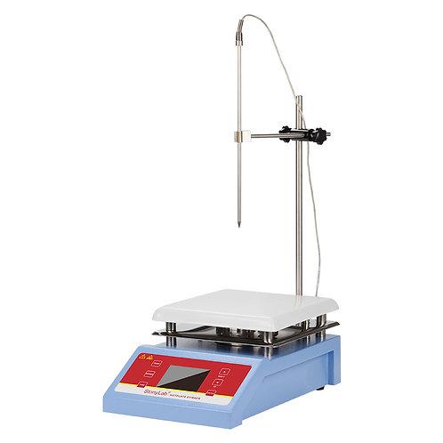 "Hotplate Magnetic Stirrer with Digital Display 5L 200-2000 RPM7.4"" x 7.4"",350℃"