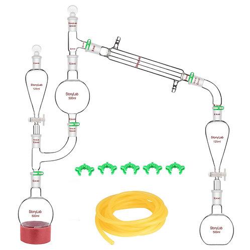 Distillation Apparatus for Essential Oil Extraction 24/40 Steam Distillation Set