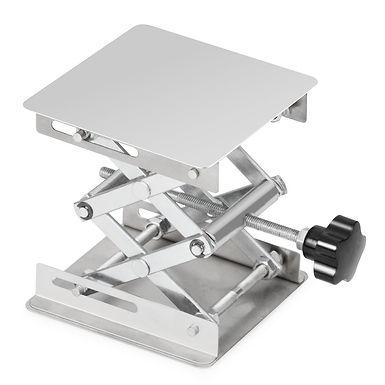 Lab Scissor Jack, Stainless Steel Jack Platform Lab Lift Stand Table
