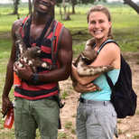 This photos is from My recent trip to Peru in December 2016. I am holding a sloth Momma in the jungles of the Amazon Rainforest of a subclimate known as Iquitos.