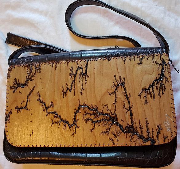 Shoulder Brown Upcycled Bag