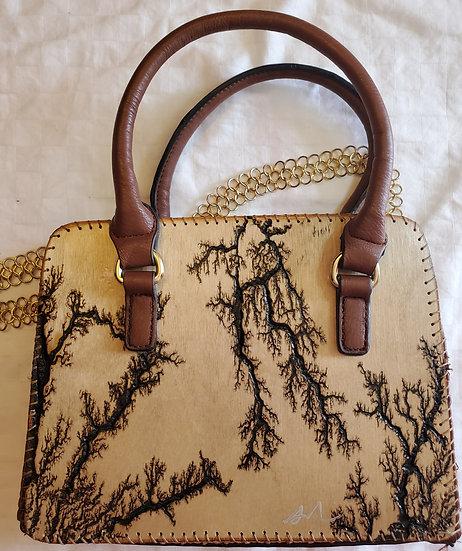 Shoulder and Arm Strap Brown Upcycled Bag