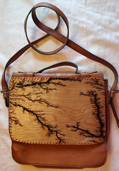 Cross Body and Hand Strap Upcycled Bag