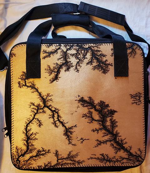 Black Upcycled Laptop Bag