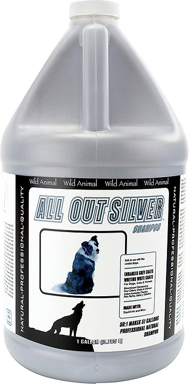 Wild Animal All Out Silver Shampoo (1 Gal)