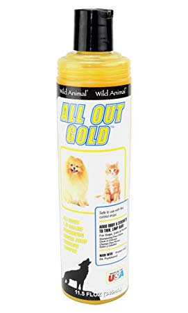 All Out Gold Color Enhancing Shampoo by Wild Animal 50:1 - 11.7oz