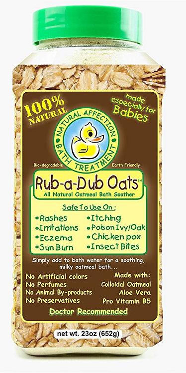 Rub-A-Dub Oats Oatmeal Bath Soother