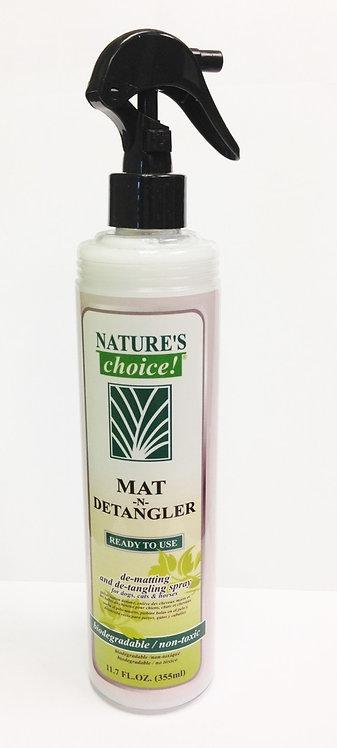 Mat-N-Detangler Spray by Nature's Choice 50:1 - 11.7oz