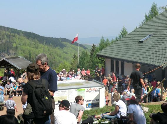 Bermerhütte zum 1. Mai Fest