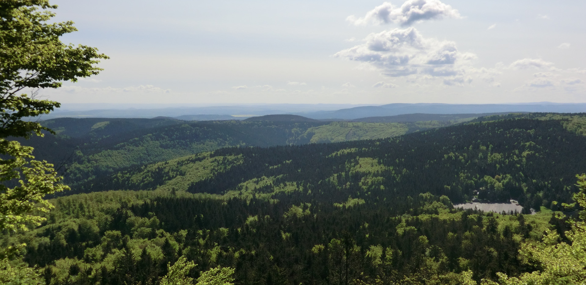 Blick vom Inselsberg