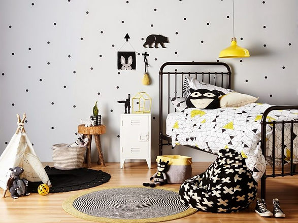 Cool-Photo-of-ebabee-likes5-of-the-best-black-and-white-kids-rooms-ebabee-likes-for-kids-room-yellow